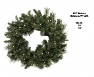 Belgium Wreath Lit
