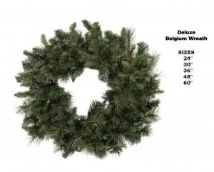 Belgium Wreath